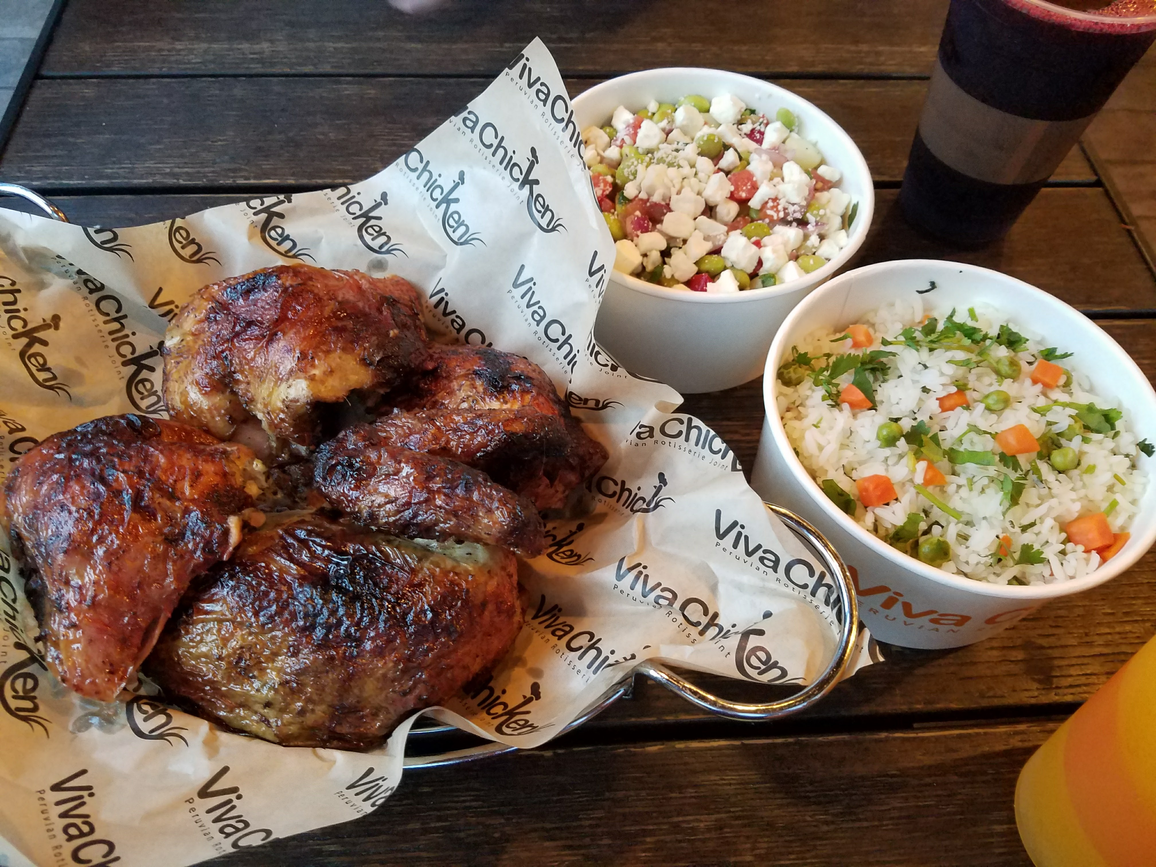 Viva chicken menu review rotisserie chicken charlotte nc if youre trying to feed the family or youre extremely hungry then order the whole chicken and three sides itll be more than enough forumfinder Image collections